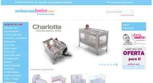 web embarazo bebe e-commerce