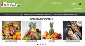 web fruteria de valencia e-commerce