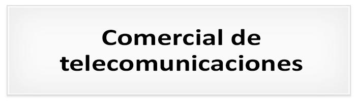 Proceso de selección : Comercial de telecomunicaciones